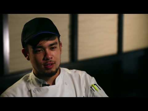 AACC Student and Sous Chef Ricky Rice - The Westin Annapolis