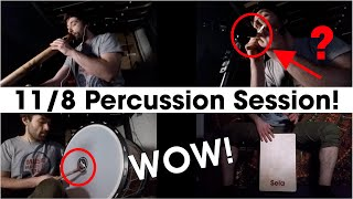 11/8 Percussion Session