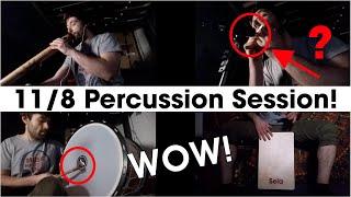 11/8 Percussion Session