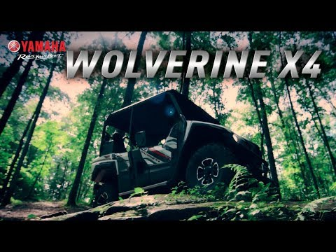 2020 Yamaha Wolverine X4 in Saint Helen, Michigan - Video 1