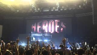 Alesso - Heroes (We Could Be) at The Palace Pool Club