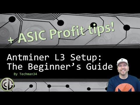 Antminer L3 setup with Nicehash & ProHashing + ASIC Profit Tips