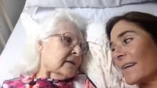 Watch heart-melting moment Alzheimer's patient recognises her daughter and says 'I love you'