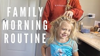 OUR MORNING ROUTINE!!! (GET READY WITH US) - Video Youtube