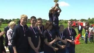 preview picture of video 'Löschangriff nass der Jugend beim Pro-Potsdam Pokal 2009'