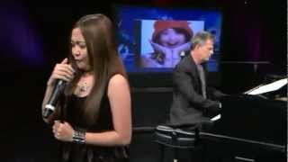 Charice & David Foster — 'Note to God' @ WGN Chicago