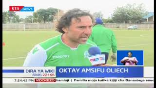 Dennis Oliech kucheza mechi yake ya kwanza dhidi ya Mathare United