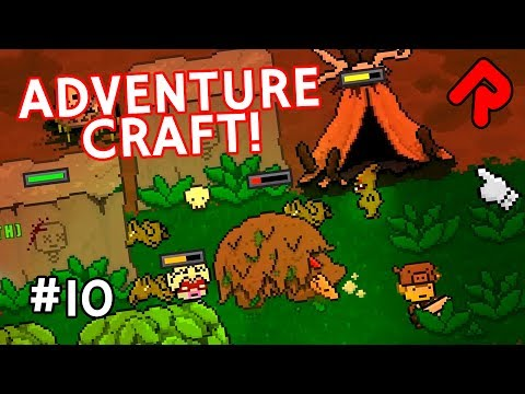 Recruiting Giant Boars & Brewing Potions! | Let's play Adventure Craft gameplay ep 10