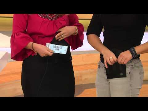 On the Go Belt-Free Pouch by Lori Greiner with Mary Beth Roe