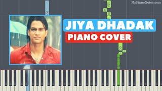 Jiya Dhadak Dhadak - Piano Tutorial from Kalyug   - YouTube