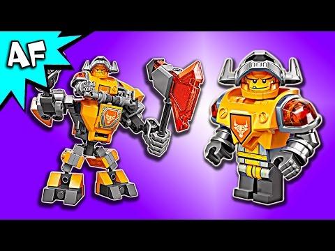 Vidéo LEGO Nexo Knights 70365 : La super armure d'Axl