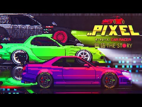 Pixel Car Racer: Story Mode - Trailer