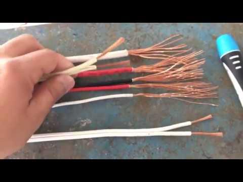 Que cables se utilizan en la instalacion electrica de una casa?