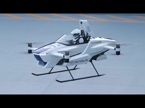 Uspješna proba letećeg automobila u Japanu