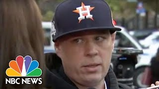 Witness Describes Truck Running Over People In Lower Manhattan Attack | NBC News