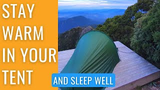 11 TIPS TO STAY WARM IN A TENT WHEN CAMPING IN COLD WEATHER