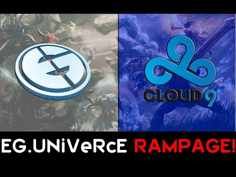 EG.UNiVeRcE RAMPAGE vs. Cloud9 @ WEC LAN Grand Final