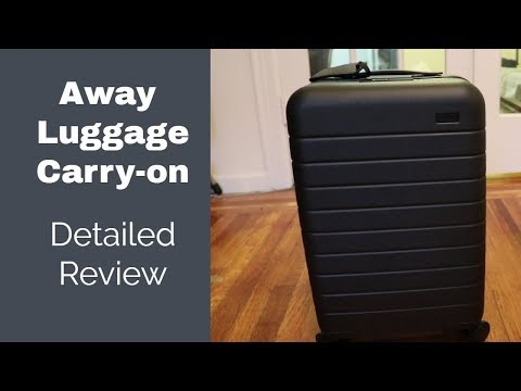 Away Carry-on Luggage Review – Is it worth $225?