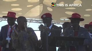 Ugandan Opposition MP Bobi Wine Performs At MDC Congress In Zimbabwe