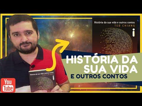 HISTÓRIA DA SUA VIDA E OUTROS CONTOS, TED CHIANG. RESENHA + OPINIÃO (INSPIROU O FILME A CHEGADA).