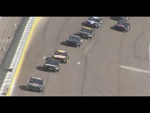 Teams take part in drafting practice at Las Vegas test