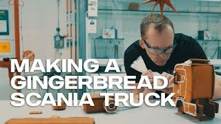 Making a gingerbread Scania truck
