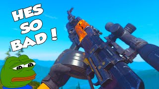 Pretending to be a BOT in Search and Destroy! (Trolling)
