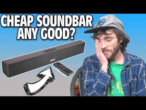 CHEAP SOUNDBARS Any Good??? 21″ Bluetooth Sound Bar Test & Review w/ ChialStar Q5 Speaker 2017