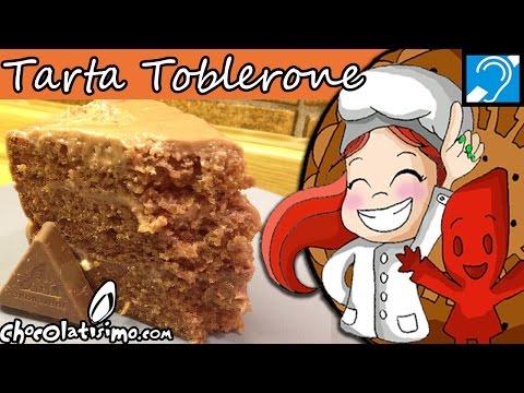 Tarta de toblerone - Recetas con chocolate