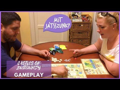 Castles of Burgundy Játékparty (Gameplay) - Mit Játsszunk?