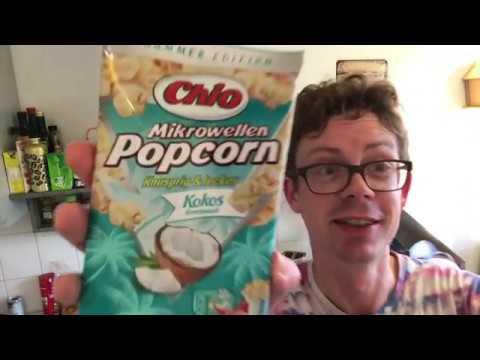 Chio Kokos Popcorn für die Mikrowelle im Test - Schmeckt es wirklich nach Kokos?