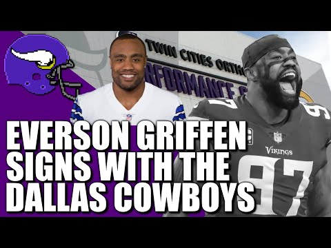 Everson Griffen Signs with the Cowboys. Everything We Know.