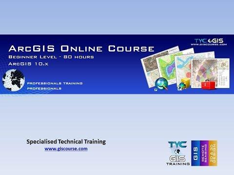 ArcGIS Training Online Course - Beginner - YouTube