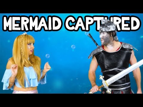 Marcy Gets Captured Tails of the Blue: Episode 3 Mermaid Adventures. Totally TV