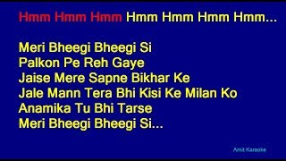 Meri Bheegi Bheegi Si - Kishore Kumar Hindi Full Karaoke