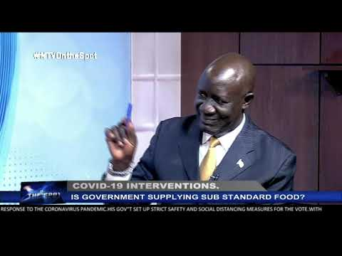COVID-19 lockdown and sub-standard relief food | ON THE SPOT