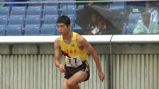 男子A走高跳決勝第45回ジュニアオリンピック6位