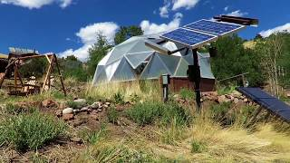 Off Grid Living With a Growing Dome