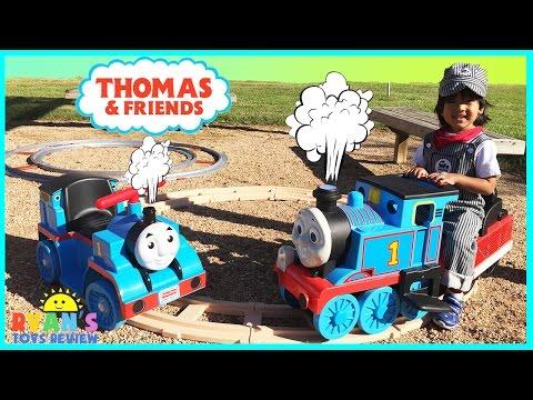 Thomas The Tank Engine Power Wheels Ride On Train for kids