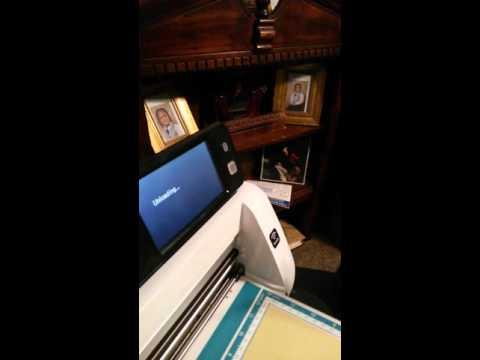 scanncut2 cm350r cutting machine