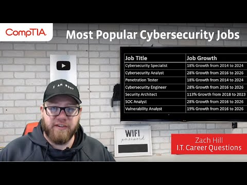 3 Popular Cybersecurity Jobs and How to Get One - YouTube