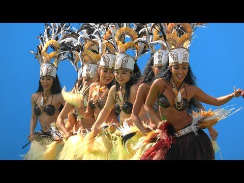 4K映像で見るJSのタヒチダンスをスロー再生したら、期待値が倍にww