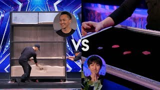 Demian Aditya Vs Will Tsai (Magician) America's Got Talent