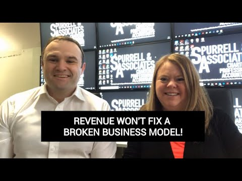 Edmonton Business Consultant | Revenue Wont Fix A Broken Business Model