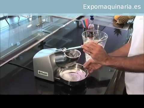 Picadora de Hielo Manual Profesional - Expomaquinaria -