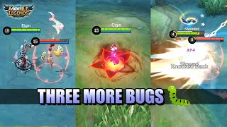 THREE MORE BUGS IN MOBILE LEGENDS 🐛 SILVANNA, VEXANA, CARMILLA - MLBB