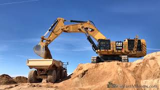 Brand New CAT 6015B Excavator Loading 745's