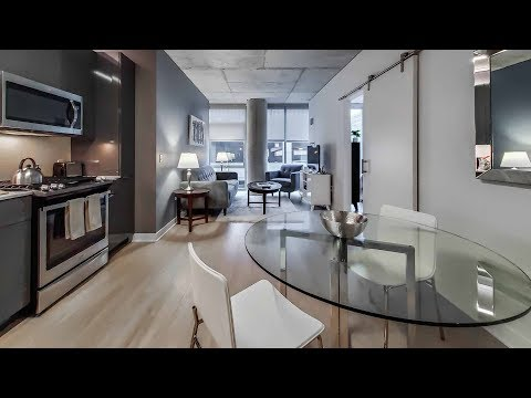 River North furnished 1-bedroom #714 near the Riverwalk and theMART