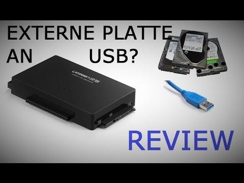 Interne Festplatten extern anschließen! UGREEN USB 3.0 auf Sata / IDE Adapter  REVIEW [Deutsch]