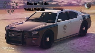 How to Find the Police Buffalo GTA 5 (October 2019)